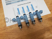 4x 2009-16 Arctic Cat F Z1 1100 9000 Turbo Fuel Injectors Flow Tested And Cleaned