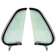 1951 1952 Ford Pickup Truck Vent Window Assembly Tint Glass Pair Right+left Side