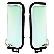 1956 Ford Pickup Truck Vent Window Assembly Tint Glass Pair Right+left Side