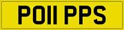 Poppy Popp Pop Poppie Number Plate Po11 Pps Private Registration With Fees Paid