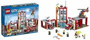 New Lego City Fire Department 60110 From Japan Ems