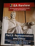 Enrolled Agent Exam Study Guide 2018-2019 Edition Part 3 Representation And Eth