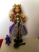 Monster High Clawdeen Wolf Doll 13 Wishes Haunt The Casbah