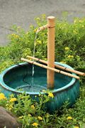Bamboo Accents Water Fountain Kit 18 Inch Adjustable Large Size Water Pump ...