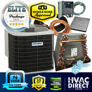 3.5 Ton 14 Seer Mobile Home Airquest-heil By Carrier Ac+coil System Line Set Kit