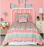 Queen/full Matilda Jane Lets Go Together Time For Bed In A Bag Quilt Set Newib