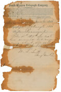P.g.t. Beauregard - 1862 Document Signed - Delivers Weapons To Assist Vicksburg