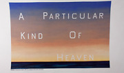 Ed Ruscha Towel Limited Edition Heaven Limited Edition Collectible Art New Rare