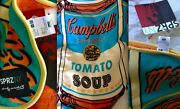 Andy Warhol X Uniqlo Moma Sprz Campbelland039s Soup Can Fleece Blanket Nwt Sold Out