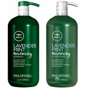 Paul Mitchell Tea Tree Lavender Mint Shampoo Or Conditioner 33.8oz -select Type