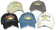 Chevy Trucks Adjustable Embroidered Hat Drag Race Hot Rod Street Rod