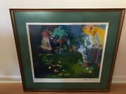 Leroy Neiman - Artist Proof Serigraph - Pool Table - Signed - Going Out Of Biz