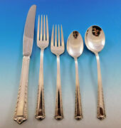 Processional By Fine Arts Sterling Silver Flatware Set For 8 Service 46 Pieces