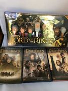 Lord Of The Rings Limited Edition Pez Collector's Series Plus Free Dvd