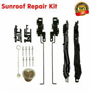 1 Set Sunroof Track Assembly Repair Kit For Ford F-150 F-250 F-350 And Raptor F150