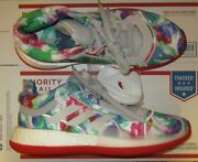 New Adidas Marquee Boost Low Xmas Christmas Men Shoes Multicolor G28750 Size