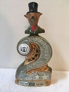 """1975 """"national Convention No. 2"""" Jim Beam Decanter. Queen Mary Beam Club Host."""