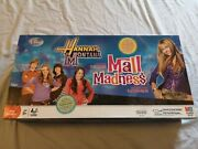 Mall Madness Electronic Hannah Montana Milton Bradley 2008 Game Complete