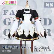 Anime Fate/apocrypha Astolfo Cosplay Christmas Dress Womanand039s Costumes Suit