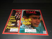 2 Issues Time May 13 And 20 1991 Crack Kids Just Say No, Inside The Cia Id5282