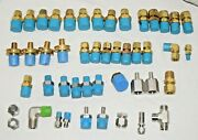 Swagelok Fittings Stainless Steel Ss And Brass Unions, Reducers More - New Lot 50