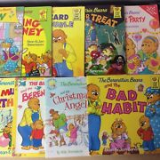 Lot Of 8 Berenstain Bears Children Kids Stan And Jan Picture Books Mix Unsorted