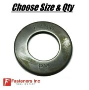 Flat Washers F436 Structural Washers In Plain Steel Heavy Duty - Sizes 1/4 - 2