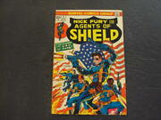 Nick Fury And His Agents Of Shield 2 Apr '73 Bronze Age Marvel Comics Id53536
