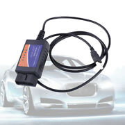 Elm327 Usb Interface Obdii Car Diagnostic Scanner Cable For Windows Pc Computer