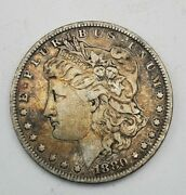 1880 1 Morgan Silver Dollar Coin As Pictured Nice And Free Shipping 8888