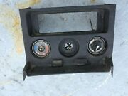 Mgb Original Radio Console 1977-80 With Switches Controls Made In England