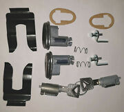 1955 1956 Ford Car Lock Set With Matched Keys
