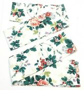 Waverly Pleasant Valley Grapes Roses Floral Window Valance Curtain 3 Rod Covers