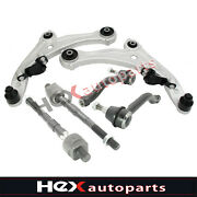 6pc Front Control Arms Kit Tie Rods For 2007 2008-2012 Nissan Altima 2.5l 3.5l