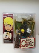 Hanna Barbera Series 2 - Jonny Quest And Bandit Action Figure By Mcfarlane Toys