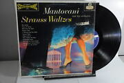 Mantovani And His Orchestra Strauss Waltzes London Records 1959 Lp