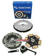 Sachs-fx Stage 3 Clutch Kit+aluminum Flywheel For Vw Beetle Turbo S 1.8t 6-spd