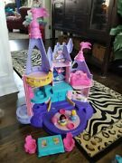 Fisher Price Little People Disney Princess Songs Palace Castle Complete