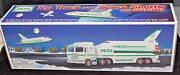 1999 Hess Toy Truck And Space Shuttle With Satellite S6078