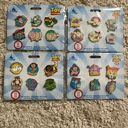 New Disney Store Toy Story Trading Pin Set - Limited Release 24 Pins Series Lot