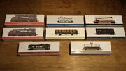 Vintage 8 Piece High Speed Metal Products Southern Pacific Train Set
