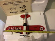 Wings Of Texaco 1930 Travel Air Model R 5th In Series Diecast Airplane Bank.