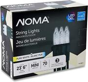 Noma Premium Mini Led Christmas Lights | Indoor/outdoor String Lights | Clear Pu