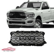 Fits 2019 2020 Dodge Ram 2500 3500 Front Upper Grille Mesh Type With Letters