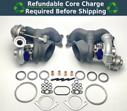 Oem N54 335i 335is 335xi Front And Rear Turbo Chargers W/ Gasket Kit 11657649290