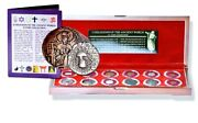 12 Religions Of The Ancient World 12 Coins In Beautiful Wood Presentation Box