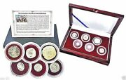 Crusader, Friends And Foes 6 Silver Coin Collection In Beautiful Presentation Box