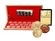 Roman Empire 20 Emperors Bronze Coin Collection With Boxhighest Quality