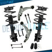 12pc Front Struts W/spring Lower Control Arms Tierod For 2007-2012 Nissan Altima