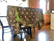 Four Gorgeous Custom Made Long Silk Valances With All Mounting Hardware - Wow